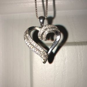 Kay heart necklace